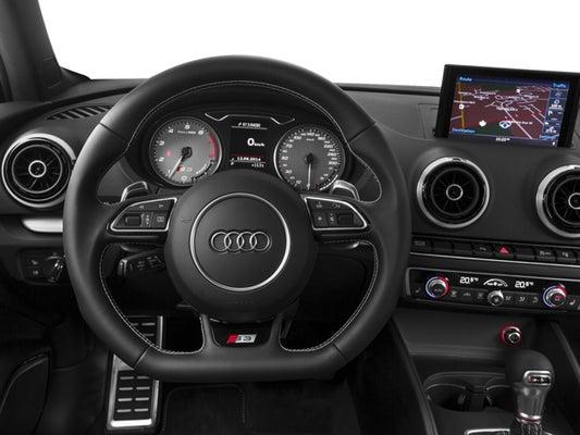 2016 Audi S3 4dr Sdn quattro Premium Plus
