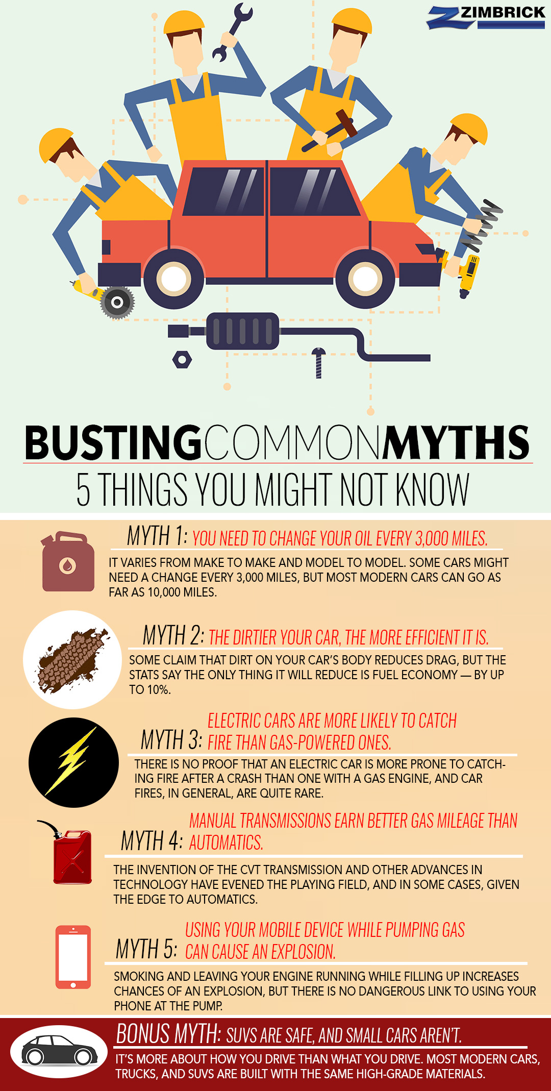 Do You Know Where Your Car Is Madisons >> Common Car Myths Debunked 5 Things You Might Not Know